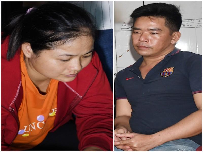 Trà Vinh: Bắt vợ chồng bán trái cây sản xuất tiền giả - ảnh 1