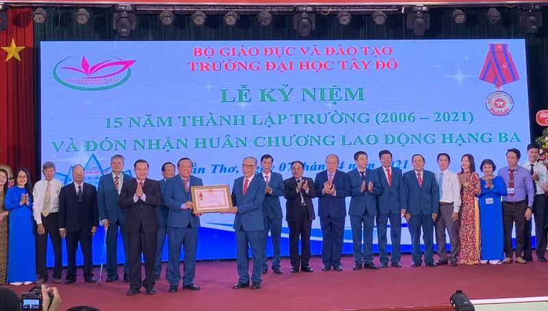 Trường Đại học Tây Đô phấn đấu phát triển ngang tầm Đông Nam Á - ảnh 1