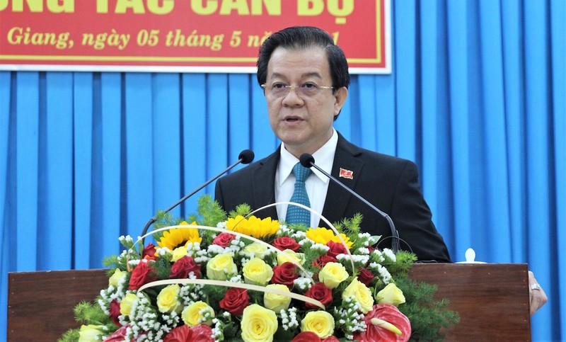 Ông Lê Hồng Quang làm Bí thư Tỉnh ủy An Giang - ảnh 3