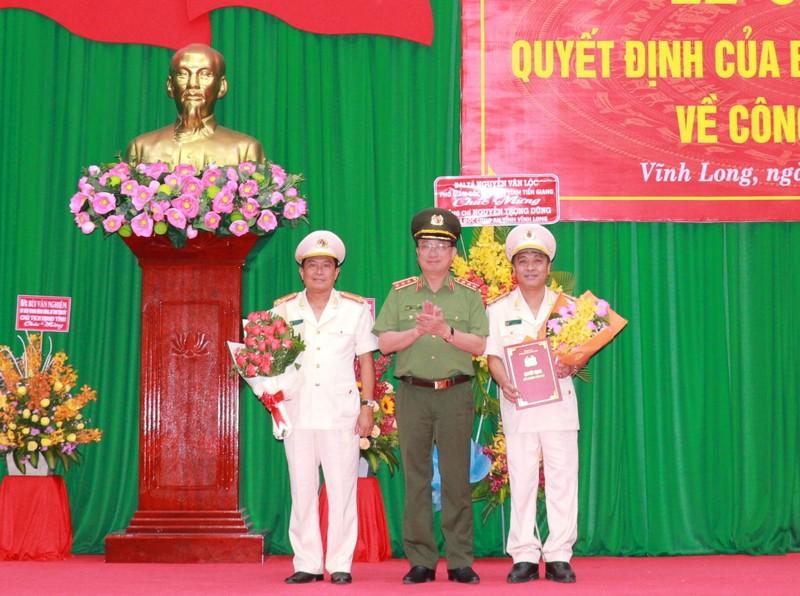 Công an tỉnh Vĩnh Long có tân giám đốc - ảnh 1