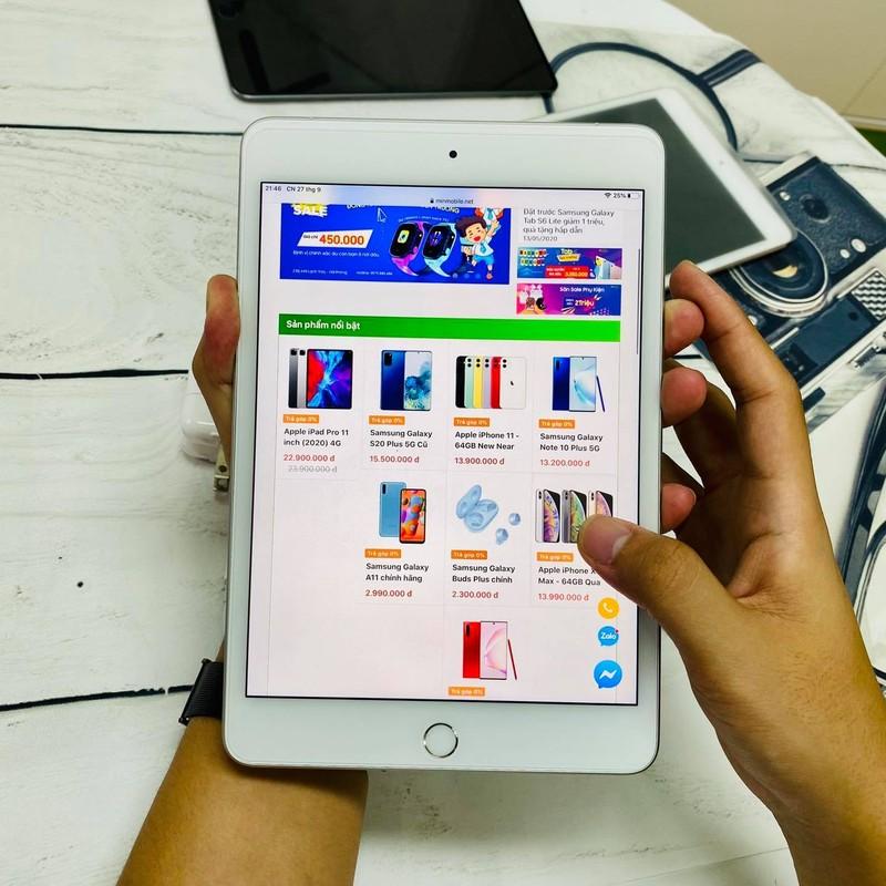 iPad mini. Ảnh minh họa
