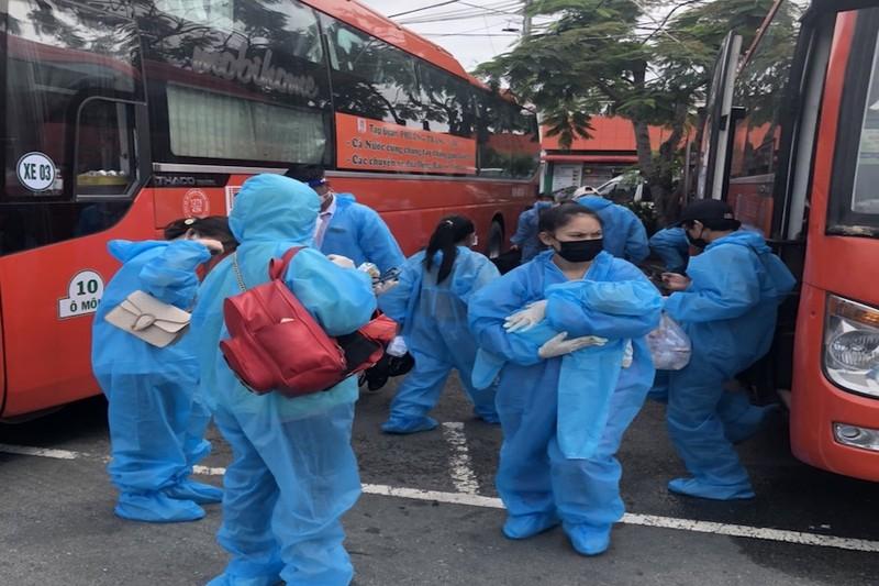 Thêm 1.146 người dân Vĩnh Long ở TP.HCM sắp được đón về quê - ảnh 1