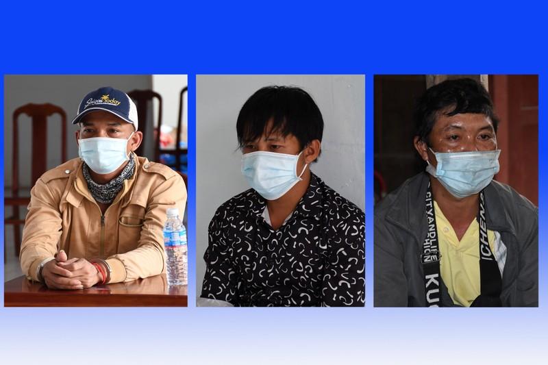 Tạm giữ hình sự 4 người phá chốt, đánh lực lượng y tế Trà Vinh - ảnh 1