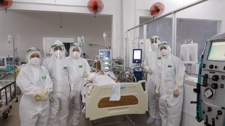 Cứu sống sản phụ bị lao màng phổi, nhiễm COVID-19  - ảnh 2