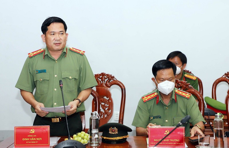 Công an tỉnh An Giang nhận 2 Bằng khen của Thủ tướng Chính phủ - ảnh 2