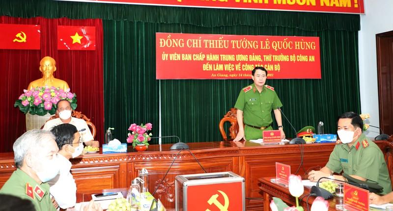 Công an tỉnh An Giang nhận 2 Bằng khen của Thủ tướng Chính phủ - ảnh 1