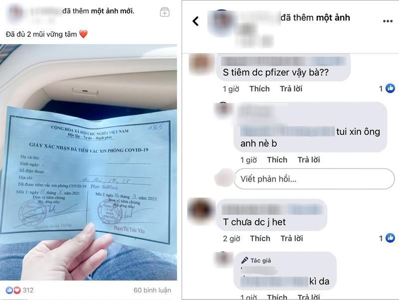 Vụ khoe 'tiêm vaccine nhờ ông anh': Kỷ luật Phó chủ tịch phường - ảnh 1