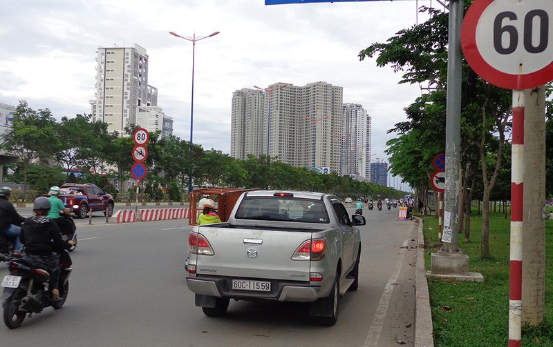 TP.HCM: Đề xuất giảm tốc độ xe 10 km/giờ - ảnh 1