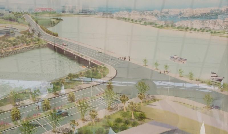 Khởi công đường D1 giảm ùn tắc cho đường Nguyễn Hữu Thọ - ảnh 1