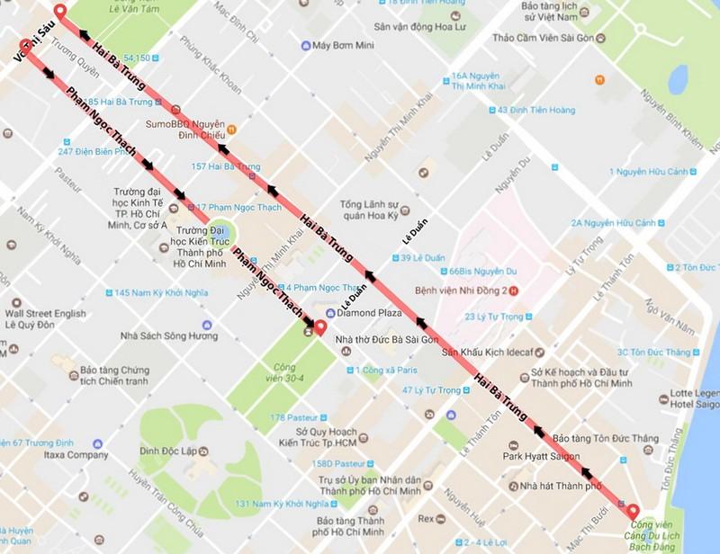 TP.HCM sẽ có nhiều tuyến đường lớn thành đường 1 chiều - ảnh 1