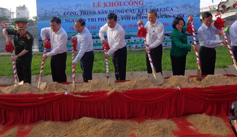 Xây cầu nối đường Võ Văn Kiệt với cầu Nguyễn Tri Phương - ảnh 2