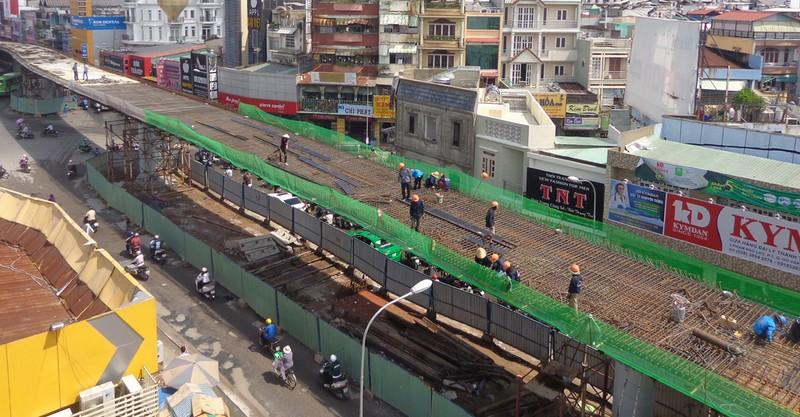 Ngày 30-10, hoàn thành toàn bộ cầu vượt ngã 6 Gò Vấp - ảnh 2