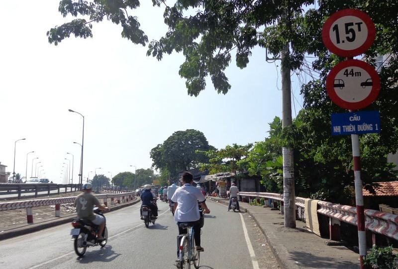 Chính thức thông xe cầu Nhị Thiên Đường 1 mới - ảnh 3