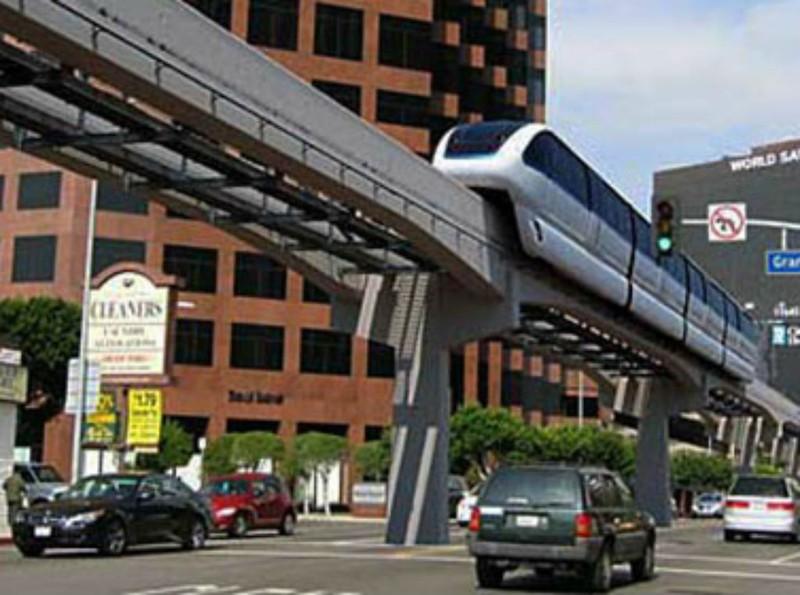 Làm tuyến monorail để 'cứu' sân bay Tân Sơn Nhất - ảnh 1