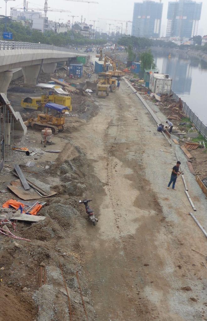 Thông xe nhánh mở rộng cầu Nguyễn Tri Phương - ảnh 7