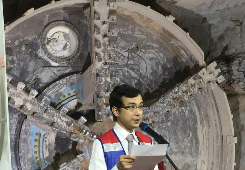 Robot 'khủng' chuẩn bị khoan hầm metro số 2 - ảnh 5