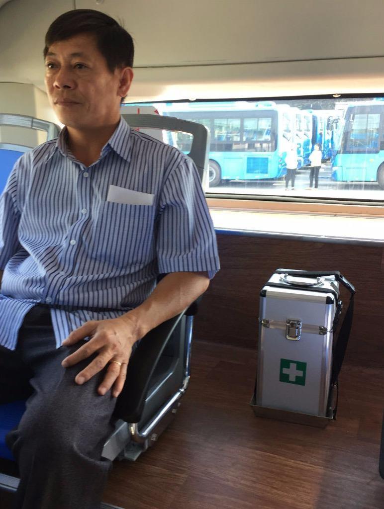 Xe buýt đạt chuẩn 'tử tế' mới được chở khách - ảnh 6