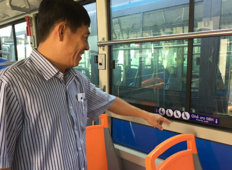 Xe buýt đạt chuẩn 'tử tế' mới được chở khách - ảnh 5