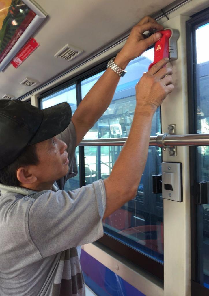 Xe buýt đạt chuẩn 'tử tế' mới được chở khách - ảnh 4