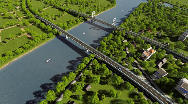 Bắt đầu xây cầu Vàm Sát 2 nối trung tâm TP.HCM - ảnh 2