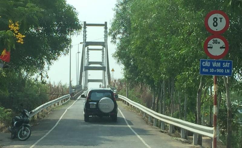 Bắt đầu xây cầu Vàm Sát 2 nối trung tâm TP.HCM - ảnh 5