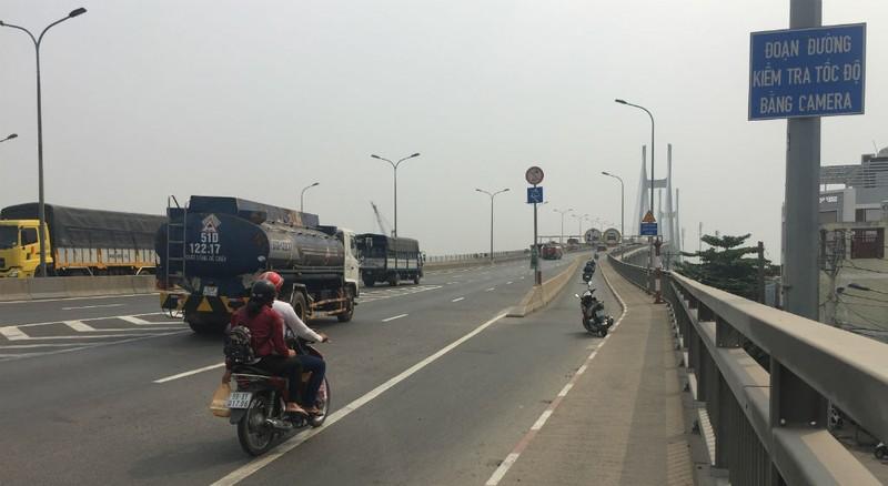 Xe qua cầu Phú Mỹ bị bắn tốc độ ra sao? - ảnh 2