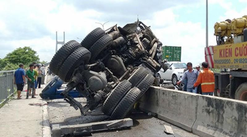 Xe qua cầu Phú Mỹ bị bắn tốc độ ra sao? - ảnh 1