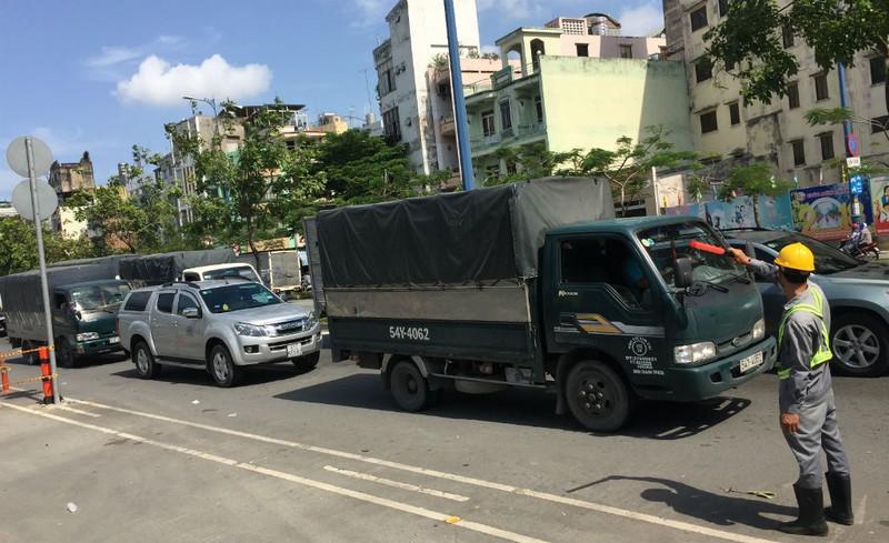 Ngày đầu đổi giờ xe tải vào nội đô: Giao thông thông thoáng - ảnh 6