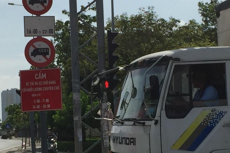 Ngày đầu đổi giờ xe tải vào nội đô: Giao thông thông thoáng - ảnh 5