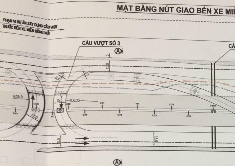 Cầu, đường cho xe ra vào Bến xe Miền Đông mới ra sao?  - ảnh 2