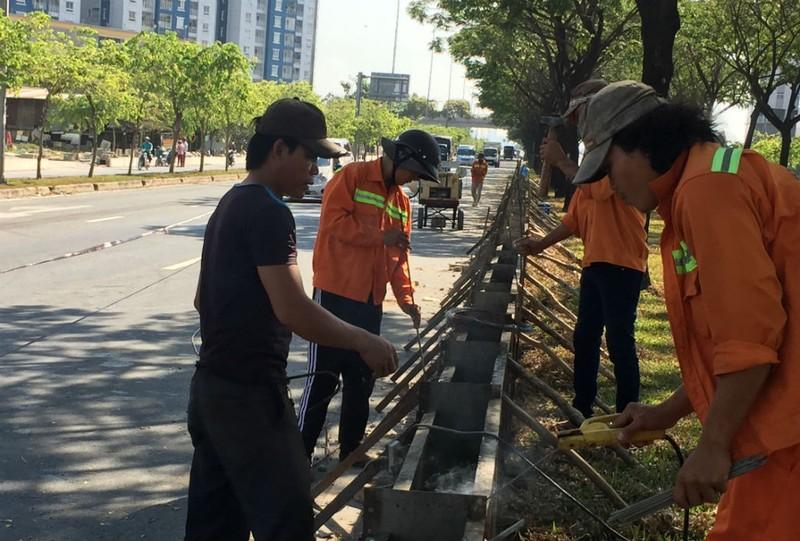 Sửa chữa, nâng cao đường Võ Văn Kiệt qua quận 1, 5, 6 - ảnh 3