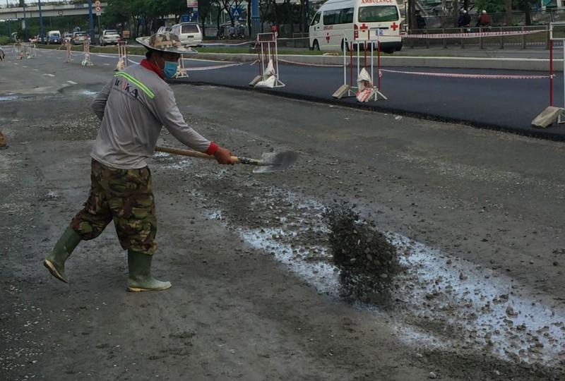 Sửa chữa, nâng cao đường Võ Văn Kiệt qua quận 1, 5, 6 - ảnh 5