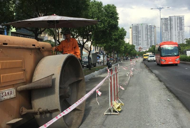 Sửa chữa, nâng cao đường Võ Văn Kiệt qua quận 1, 5, 6 - ảnh 6