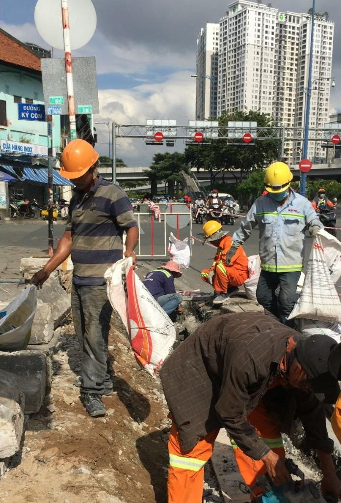 Sửa chữa, nâng cao đường Võ Văn Kiệt qua quận 1, 5, 6 - ảnh 2