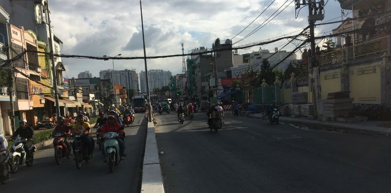 Hoàn thành mở rộng cầu Nguyễn Tri Phương trước Tết 2019 - ảnh 6