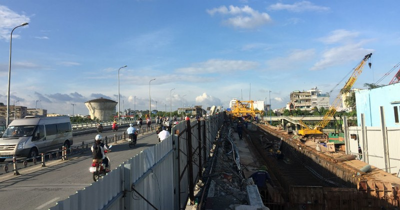 Hoàn thành mở rộng cầu Nguyễn Tri Phương trước Tết 2019 - ảnh 4