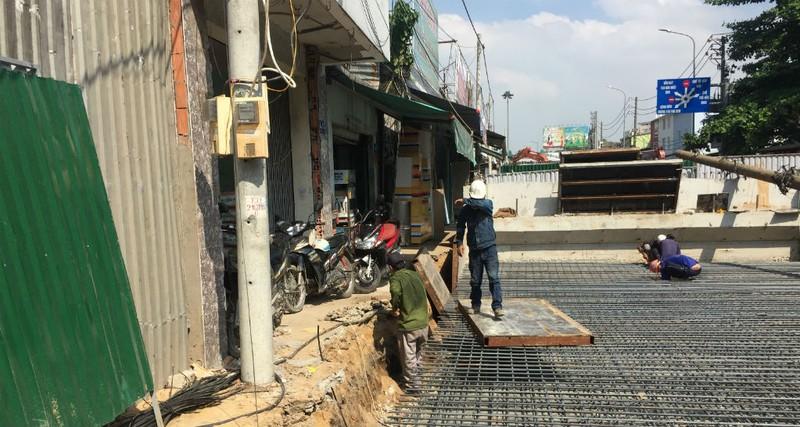 Làm xong cầu vượt ngã 7 Phạm Văn Đồng trước Tết Kỷ Hợi - ảnh 6