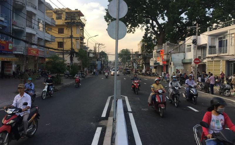Thông xe nhánh cuối cầu vượt ngã 7 Nguyễn Thái Sơn  - ảnh 1