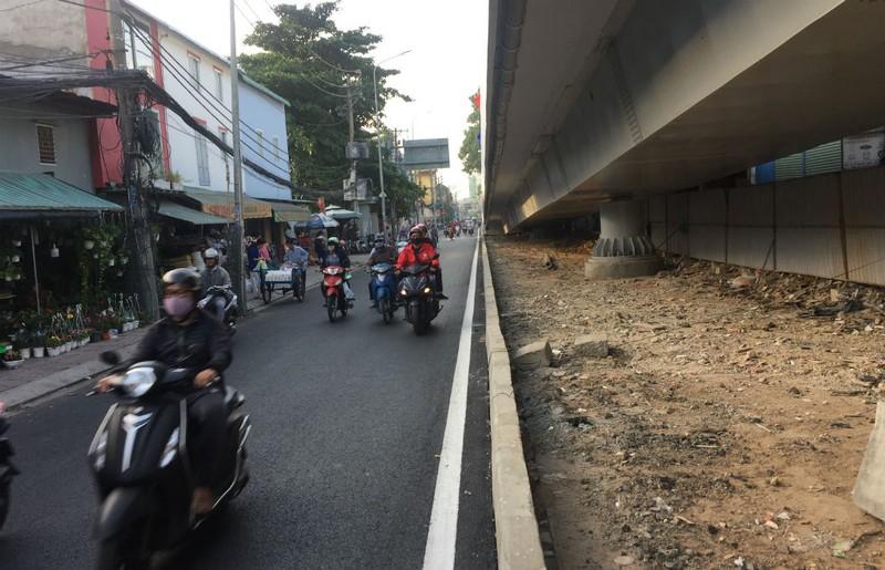 Thông xe nhánh cuối cầu vượt ngã 7 Nguyễn Thái Sơn  - ảnh 5