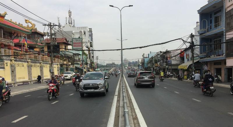 Hoàn thành mở rộng cầu Nguyễn Tri Phương trước ba tháng - ảnh 3