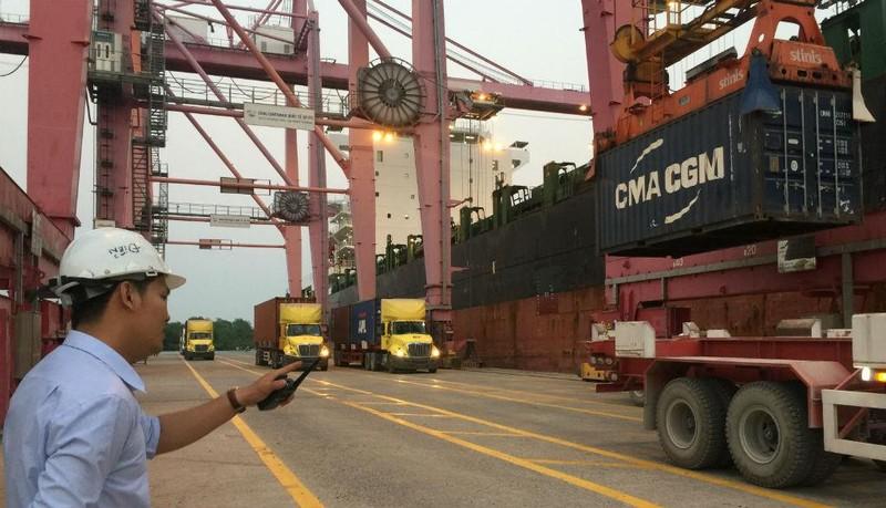 Cảng tư nhân đầu tiên chuyển hàng đi thẳng TP. HCM - Úc - ảnh 1