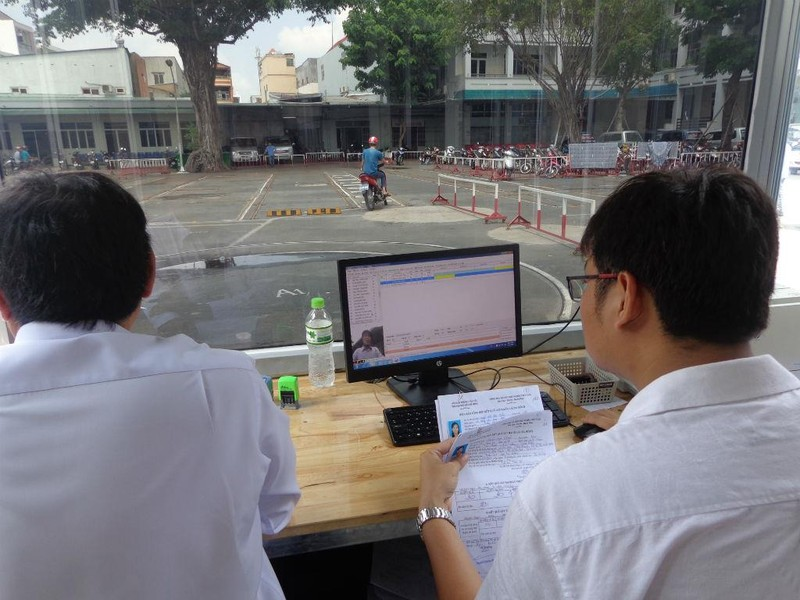 Kiểm tra, chấn chỉnh 10 trường dạy lái mô tô - ảnh 2