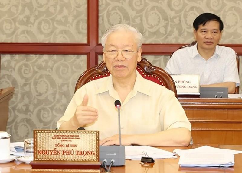 Bộ Chính trị cho ý kiến về phát triển kinh tế- xã hội, chính sách tiền lương - ảnh 1