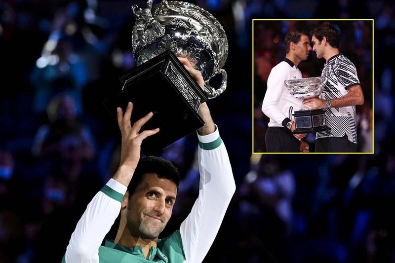 Tay vợt số một thế giới  xô đổ kỷ lục của Federer - ảnh 1