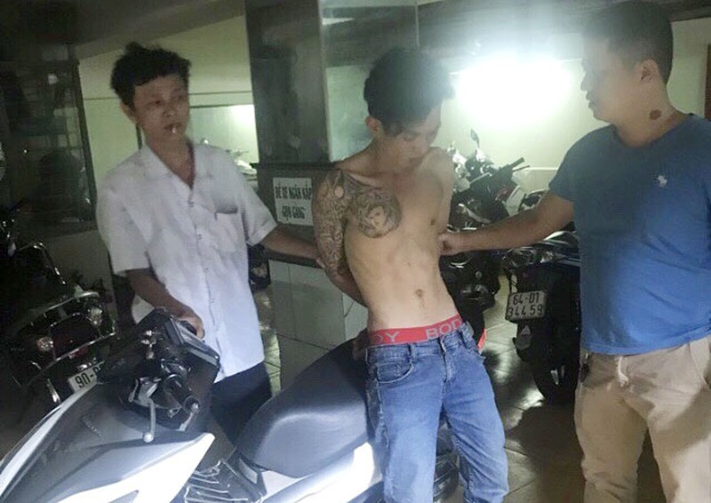 Theo định vị, CSGT Phú Lâm tóm được kẻ trộm xe AirBlade - ảnh 1