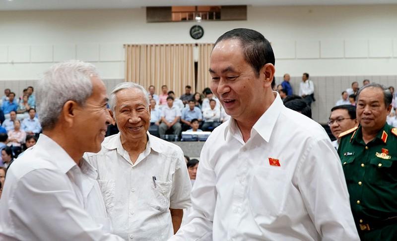 Cử tri TP.HCM bày tỏ nỗi lo lắng nhất với Chủ tịch nước - ảnh 1
