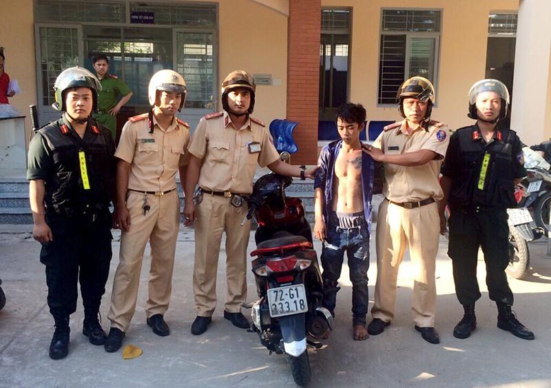 Trộm xe tay ga từ Bình Thuận vào TP.HCM thì bị bắt - ảnh 1