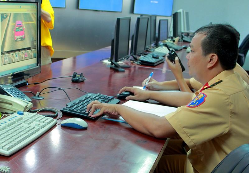 Cầu Phú Mỹ gắn thiết bị bắn tốc độ tự động - ảnh 1
