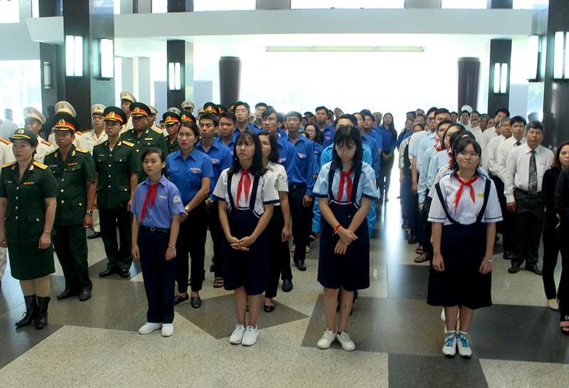 Trang nghiêm lễ truy điệu cố Tổng Bí thư Đỗ Mười tại TP.HCM - ảnh 4