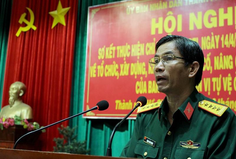 Tân Bình xây dựng 16 đội tự vệ sau vụ nổ mìn - ảnh 2